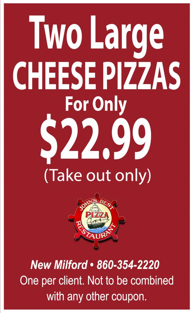 Large Cheese Pizza Deal New Milford